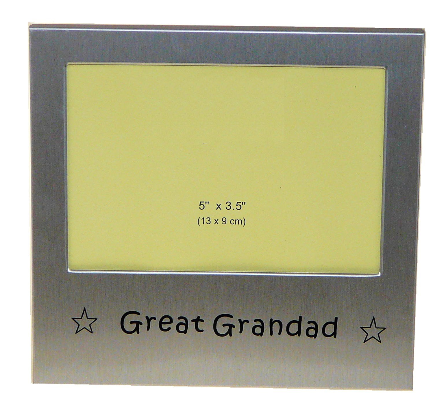 Details about Great Grandad Photo Picture Frame Gift 5 x 3.5